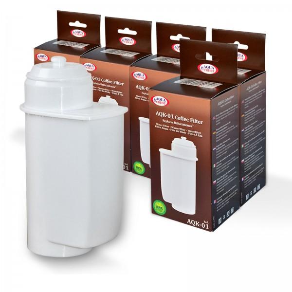 5x Brita Intenza kompatibler Wasserfilter, AquaCrest AQK-01, NEU!