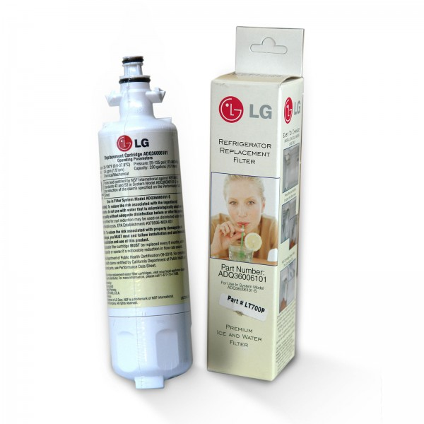 LG Wasserfilter Lamona LT 700P / ADQ36006101, ADQ36006102 Filter