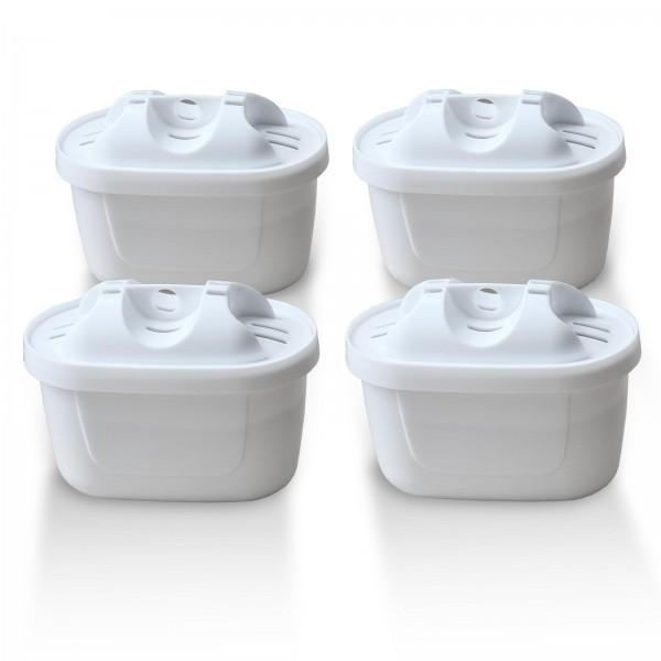 4x Brita Maxtra + kompatibler Wasserfilter, Delfin-Filter