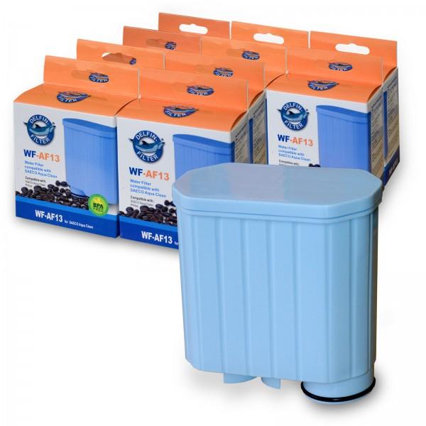 10x Wasserfilter kompatibel mit AquaClean CA6903 SAECO Delfin WF-AF13