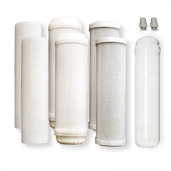 Ersatzfilterset A Umkehrosmose für 800 GPD, PP-GAC-CTO