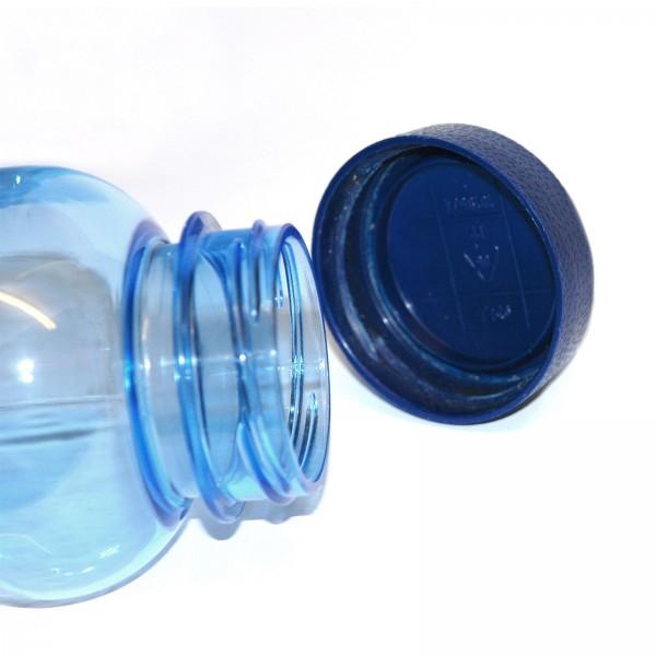 blauer Ersatzdeckel für Trinkflasche