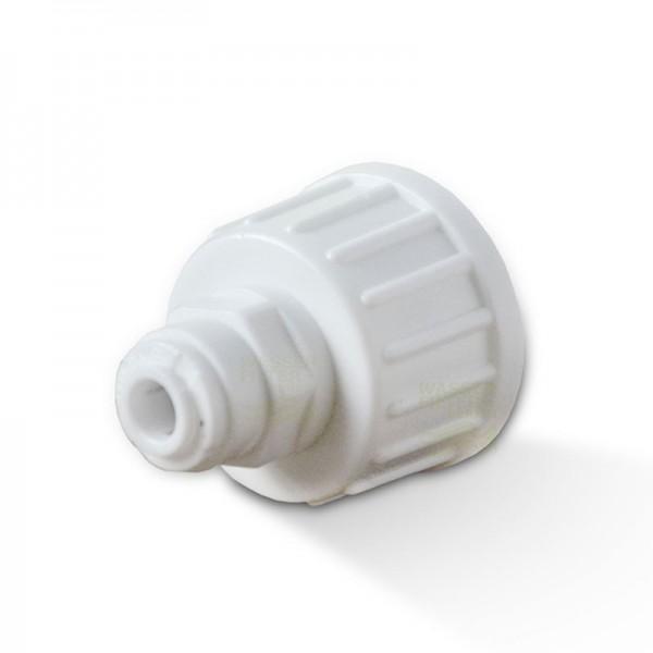 """Wasseranschluss  6mm Kühlschrank Schlauch, IG 3/4"""" x 1/4""""  Schlauch"""