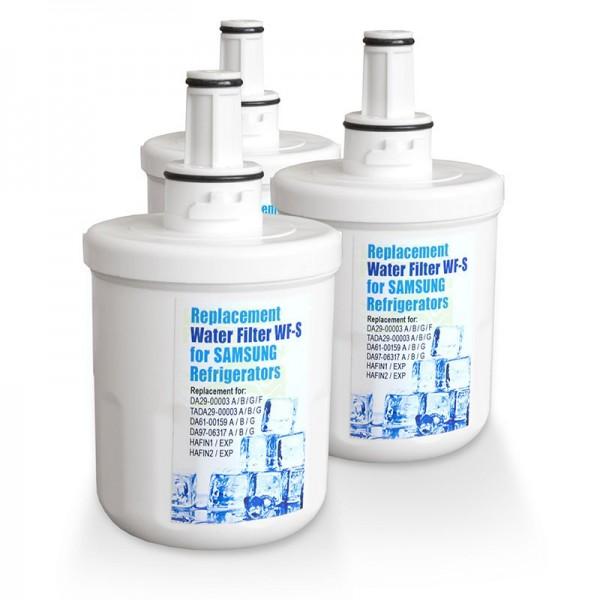 3x WF-S 3B Kühlschrankfilter, kompatibel mit DA29-00003B, A