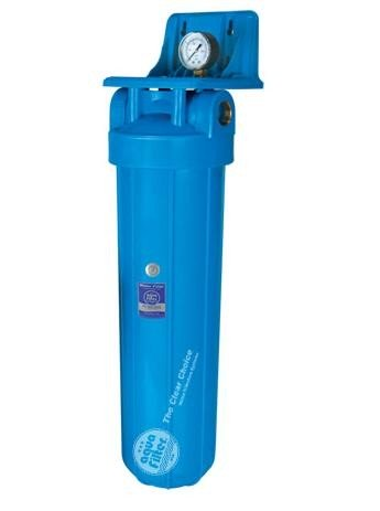 20 inch x 4.5 inch Water Filter Housing with Manometer