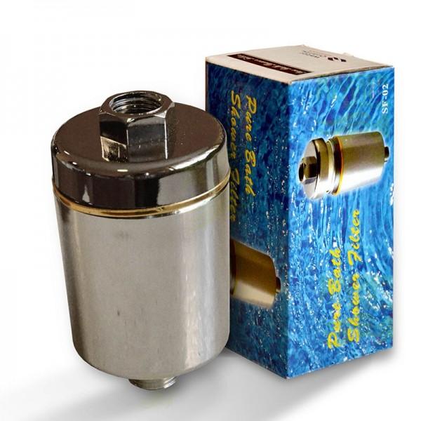 Duschfilter SF-02 (verchromt), Wasserfilter zum Wohle Ihrer Haut