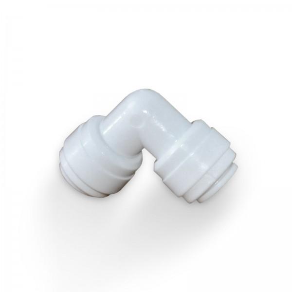 Quickanschluss, Winkel für Schlauch, beidseitig 1/4 Zoll