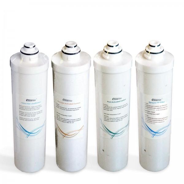 Ersatzfilterset für 500 GPD Quick Change Filter Umkehrosmose