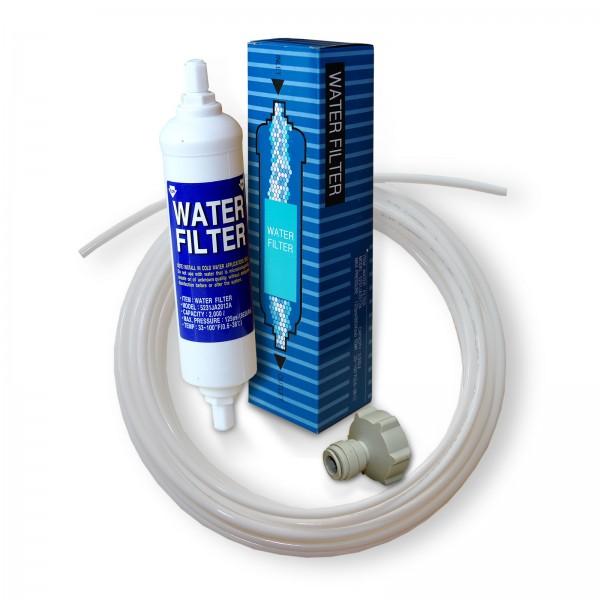LG BL-9808 Wasserfilter mit Schlauch und Adapter, Kühlschrankfilter