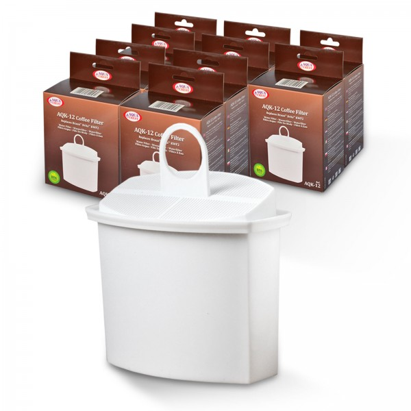 10x Wasserfilter Brita KWF2 kompatibel, für Braun Kaffeemaschinen