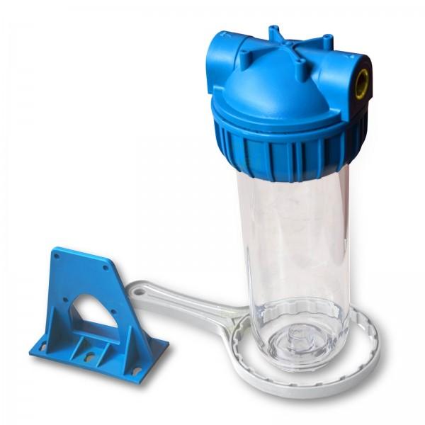 25,4cm/ 10 Zoll Wasserfiltergehäuse 1/2 Zoll Messing IG
