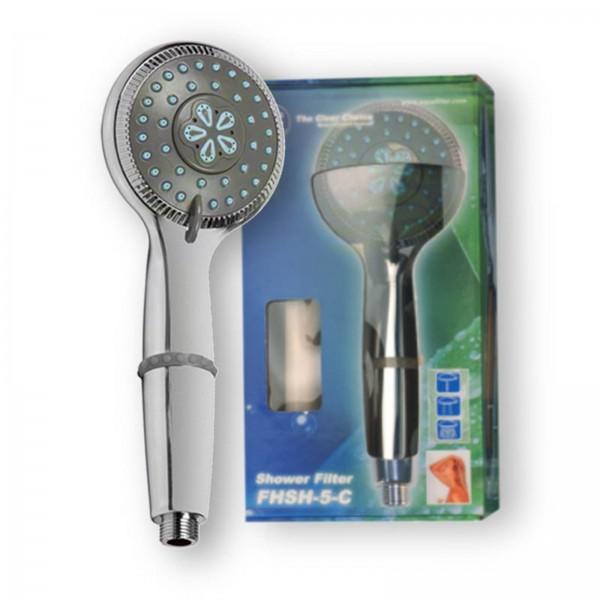Duschfilter chrom small, Wasserfilter zum Wohle Ihrer Haut