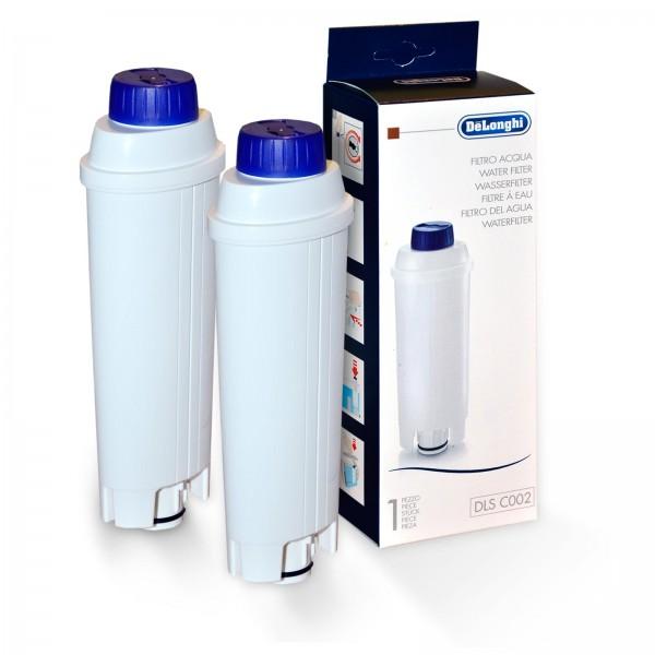 2x DeLonghi Wasserfilter für DeLonghi Kaffeemaschinen SER 3017 DLSC002