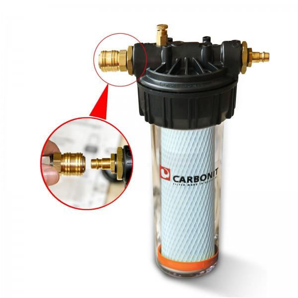 Carbonit Vario Universal, Untertisch-/Einbaufilter