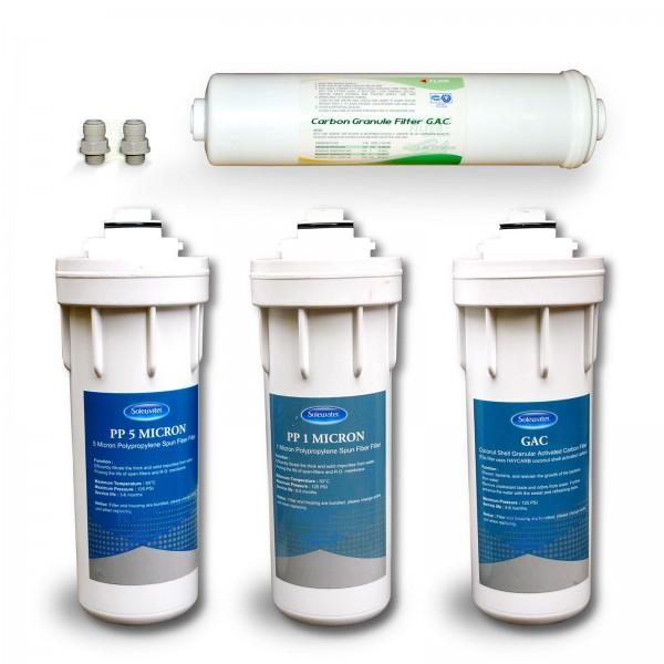Ersatzfilterset für Quick Change 300 GPD Umkehrosmose