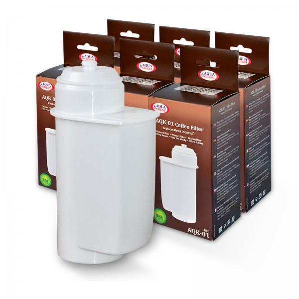 6x mit Brita Intenza kompatible Wasserfilter, AquaCrest AQK-01, NEU!