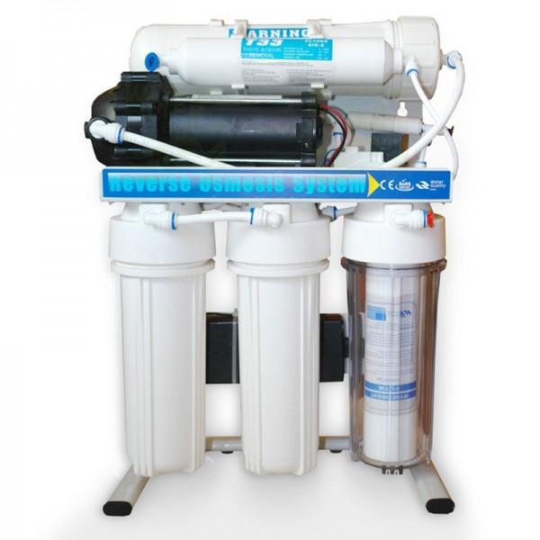 Direct Flow Umkehrosmose-Anlage Wasserstelle 400GPD