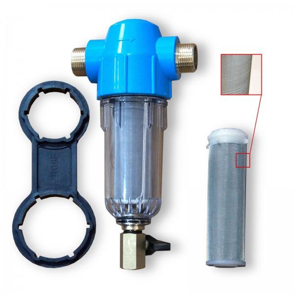 Hauswasserfilter Rückspülfilter, Sandfilter, Sedimentfilter