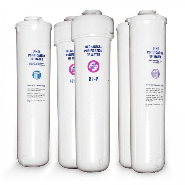 Ersatzfilterset für Morion Umkehrosmose Anlage Aquaphor