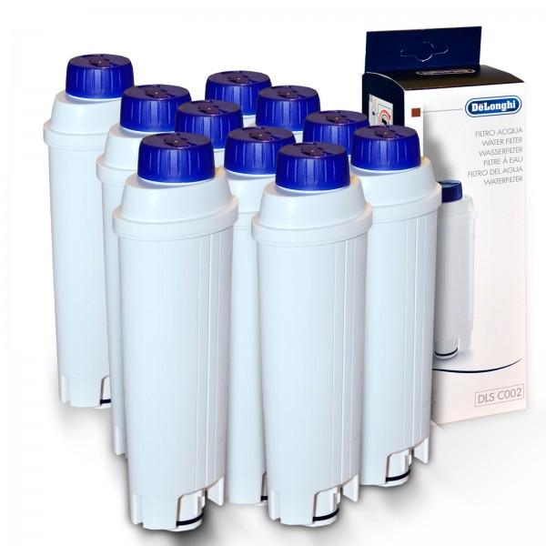 10x DeLonghi original Wasserfilter DLS C002 SER 3017 ESAM, ECAM BCO EC