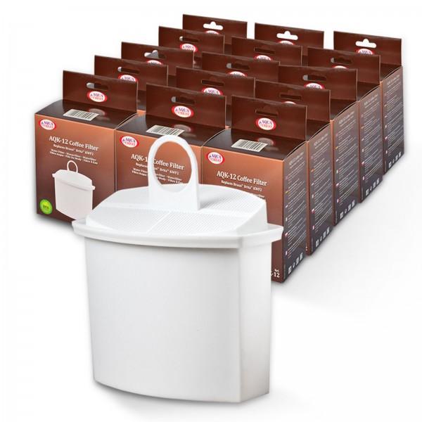 15x Wasserfilter kompatibel mit Brita KWF2 für Braun Kaffeemaschinen