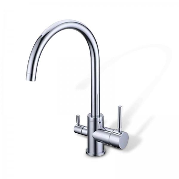 Design-Drei-Wege-Wasserhahn Florenz, 3-Wege-Wasserhahn Negro Nachfolger