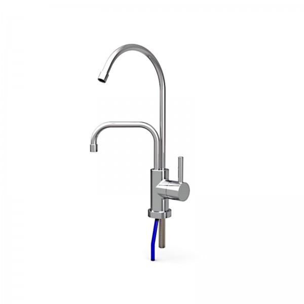 Wasserhahn Umkehrosmose mit Abwasserauslauf