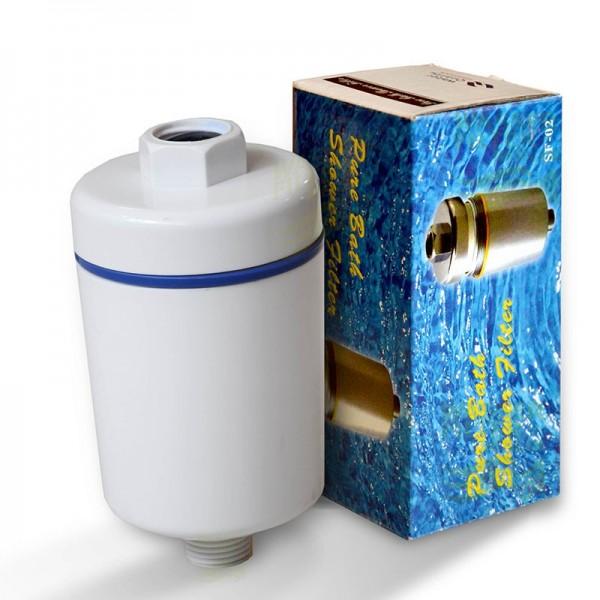 Duschfilter SF-02 (weiss), Wasserfilter zum Wohle Ihrer Haut