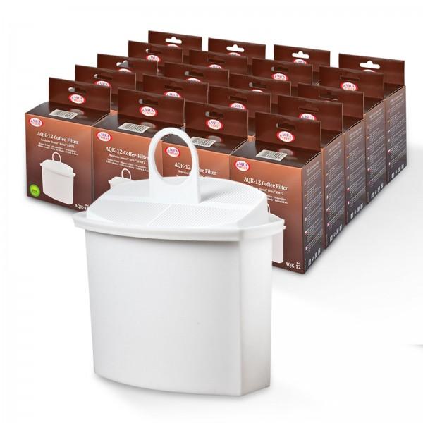 20x Wasserfilter Brita KWF2 kompatibel, für Braun Kaffeemaschinen