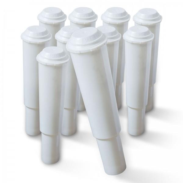 10x Jura Claris Plus/ White 60209 kompatible Wasserfilter, für Impressa