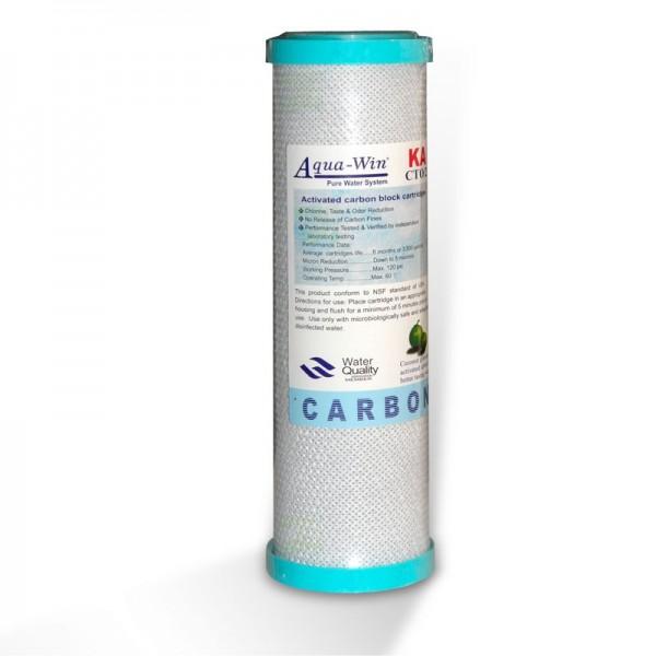 nicht eingeschweißt - Aquawin MFP Aktivkohleblock 5µm (NSF zertifiziert)