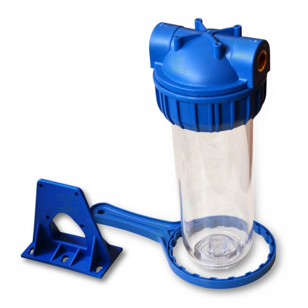 25,4cm/ 10 Zoll Wasserfiltergehäuse, 3-teilig, 3/4Zoll IG