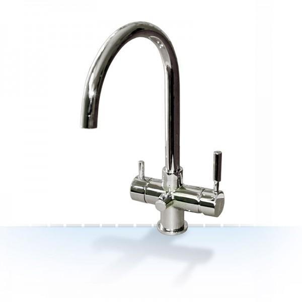 Design-VIER-Wege-Wasserhahn ROM-2, 4-Wege-Wasserhahn 4in1