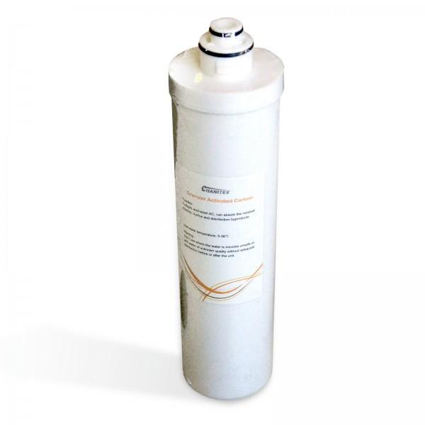 Ersatzfilter Aktivkohlegranulat (GAC) 500GPD Quick Change Umkehrosmose