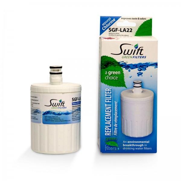 Swift Green SGF-LA22 Wasserfilter kompat. LG LT500P Kühlschrankfilter