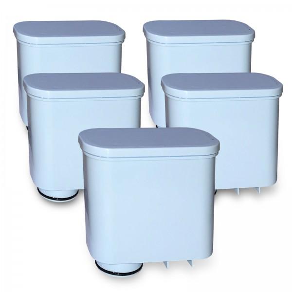 5x Wasserfilter kompatibel mit AquaClean CA6903 SAECO Delfin WF-AF13