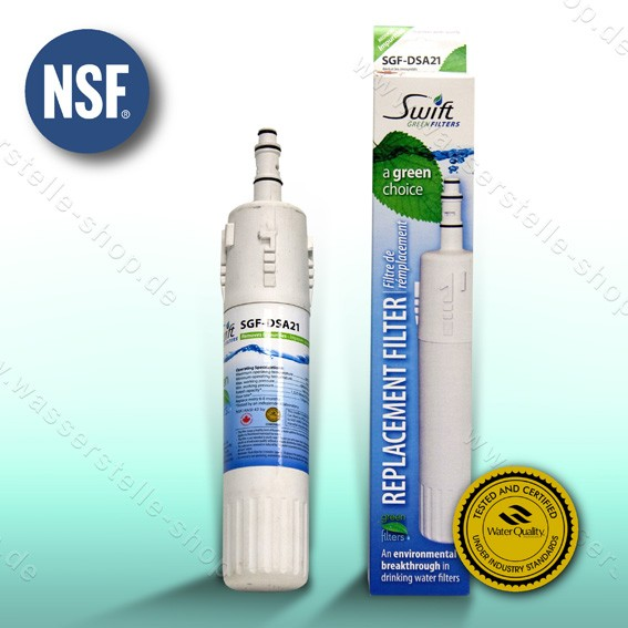 ersetzt Samsung DA29-00012, Swift Green Wasserfilter SGF-DSA21