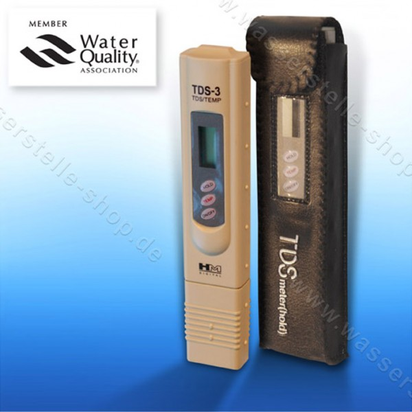 TDS meters, digital (display in ppm)