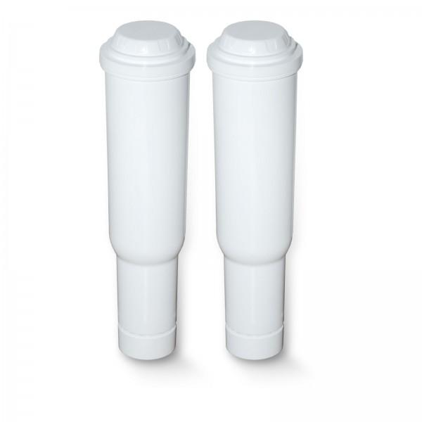 2x Wasserfilter für Jura Impressa kompatibel Jura Claris Plus White 60209