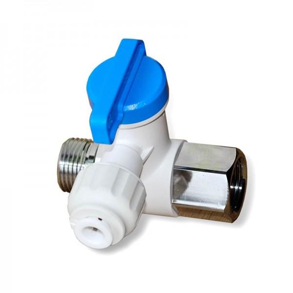 """3/8 Zoll IG/AG x 1/4"""" Schlauchanschluss, Wasseranschluss Festwasseranschluss für SBS Kühlschrank, Espressomaschine und Umkehrosmoseanlage"""