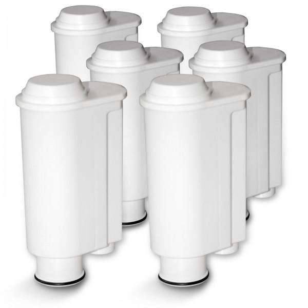 6er-Packung Wasserfilter passend für Saeco / Phillips Kaffeemaschinen