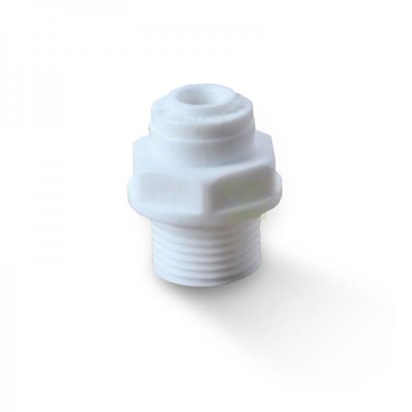 """Quickverschluss, gerade 9 mm (3/8"""" AG x 1/4"""" Schlauch)"""