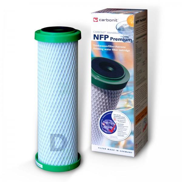 NFP Premium D-9, Carbonit Monoblock Wasserfilter
