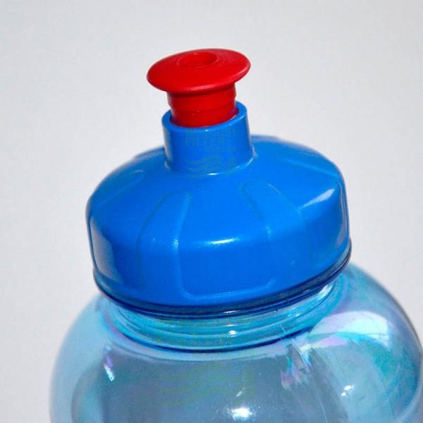 Trinkflasche 0,5 Ltr. Push&Pull-Verschluss, ohne Bisphenol A, Weichm.