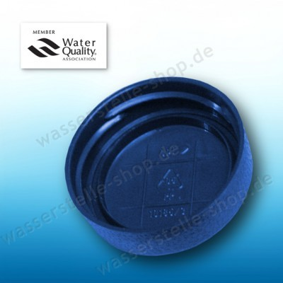 Blue Replacement lid for bottle