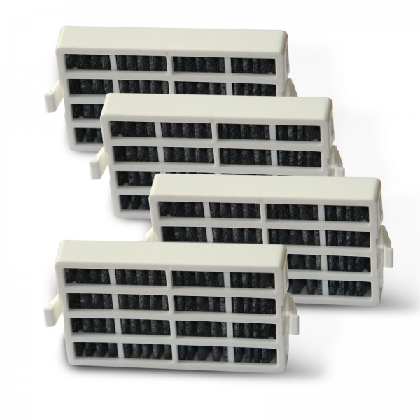 4x Bauknecht HYG001 (481248048173) Whirlpool ANT001 (481248048172) kompatibler Filter