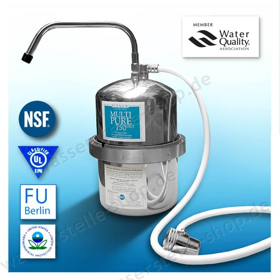 Drinking Water Filter Multi Pure MP 750SSCT