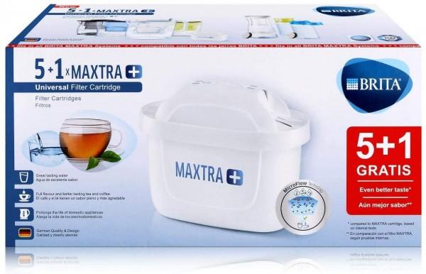 6x Brita Maxtra Plus, originale Maxtra Kartusche