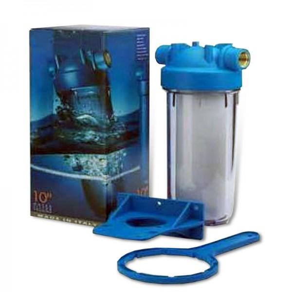 10 Zoll Wasserfiltergehäuse, Italy 1 Zoll IG Messing
