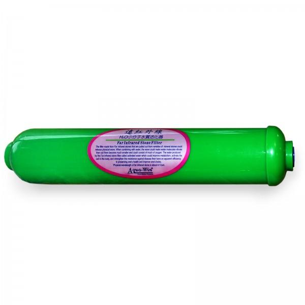 Biokeramikkartusche FIR Nachfilter Umkehrosmose, Infrared Stone grün